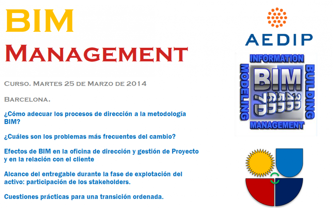 BIM Management. 2ªEd. en Barcelona