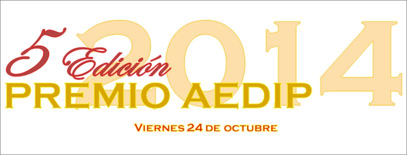 AEDIP convoca los premios 2014