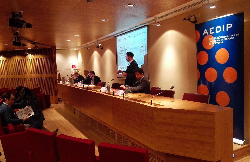 """AEDIP-IFMA Conferencia """"El Ciclo de Vida de los Activos"""" – 23 noviembre 2017, Madrid"""