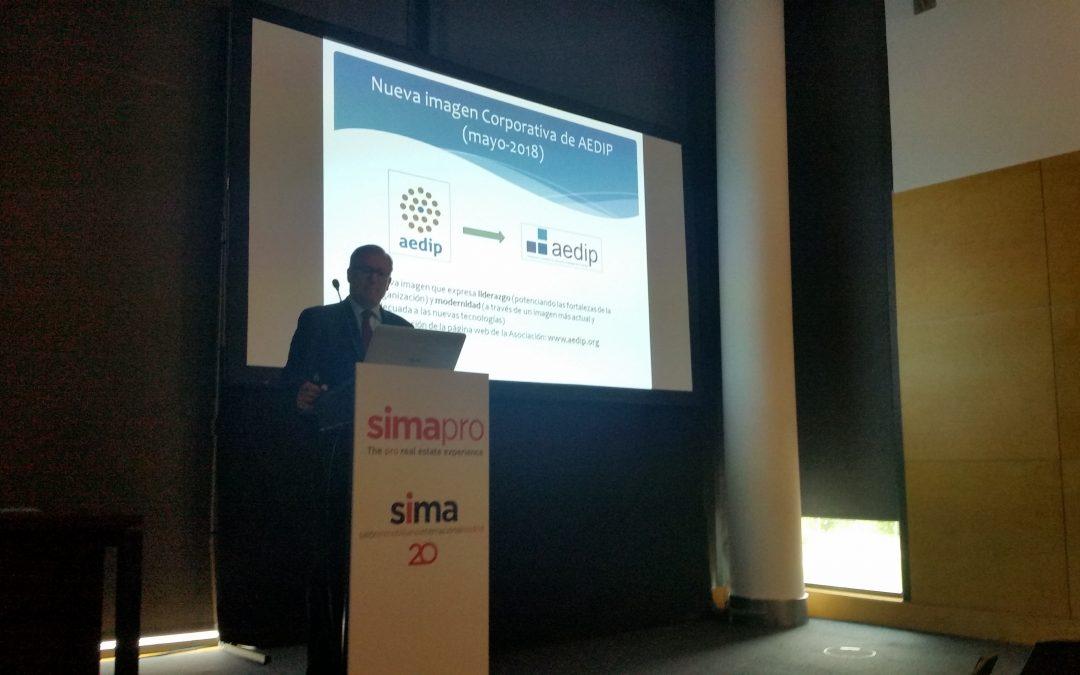 Presentación de AEDIP en SIMApro 2018