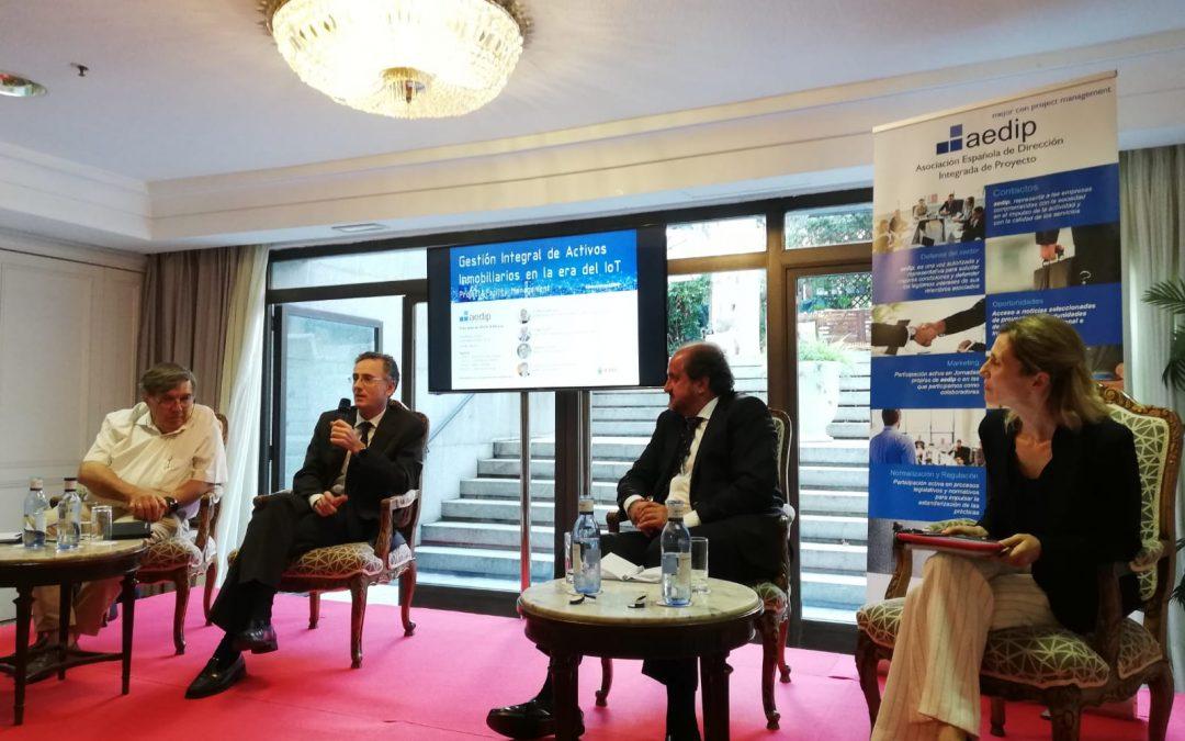 #desayunosAEDIP | PM&FM – Gestión de Activos Inmobiliarios en la era del IoT