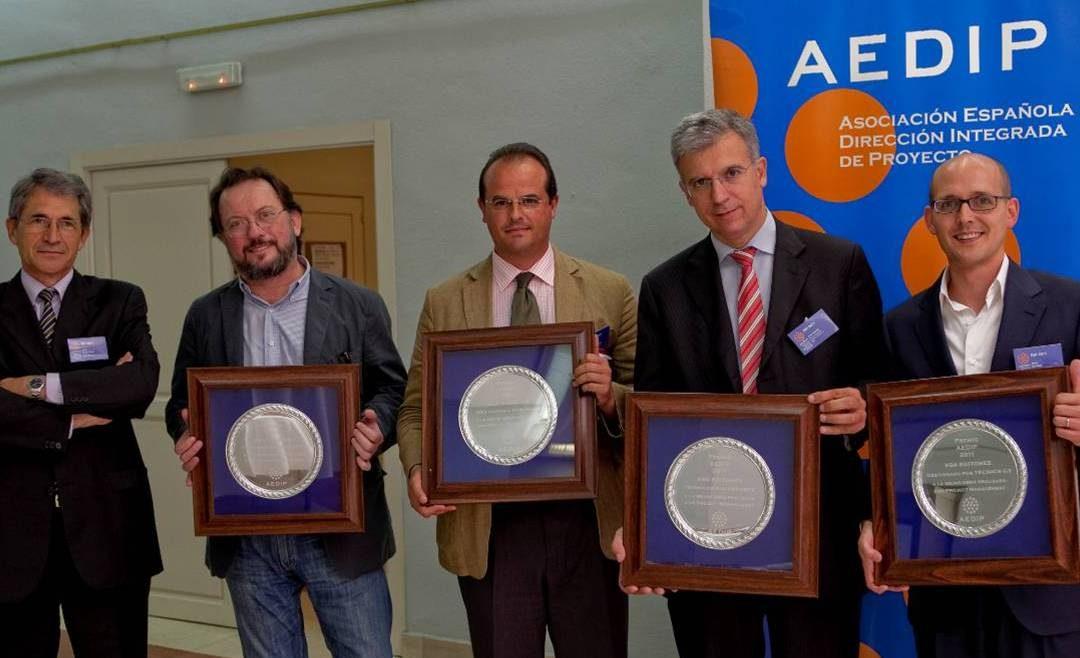IKEA-IDOM y RBA-TECNICS G3, los premios AEDIP 2011