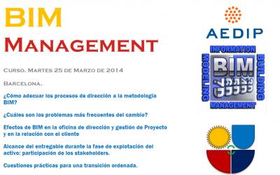BIM Management. 2ªEd. en Barcelona