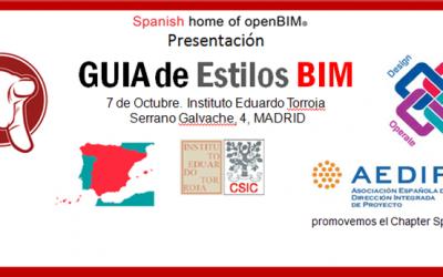 BIM en Español: 7 de octubre. Presentación de los Cuadernos BIM